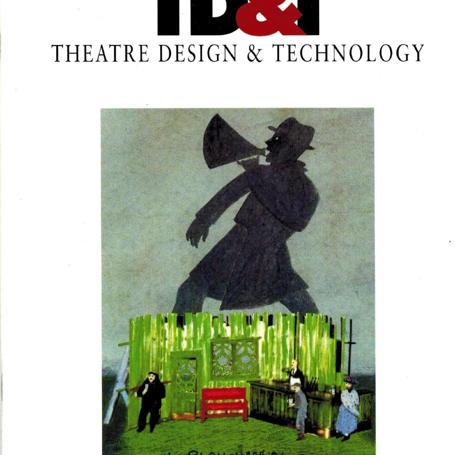 "U. S. I. T. T. Magazine, TD £ T, ""Approaching the Light: Communication Between X Choreographers and Designers"" November 1993."