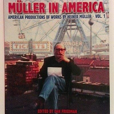 "With Dr. Steven Earnest, ""Mauser and the Horatian: Heiner Muller and Post Modem Production'"" in: Mueller in America , Castillo Theatre Press, N Y 2003"