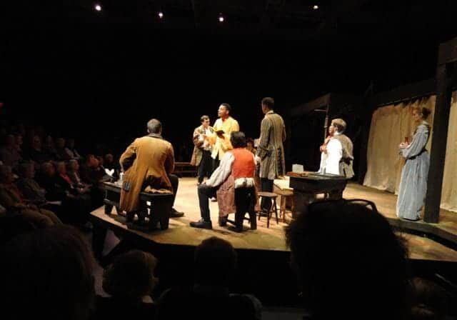 American Play, staged reading, Univ. of Maryland, Salisbury. (Photo. J. Eis)